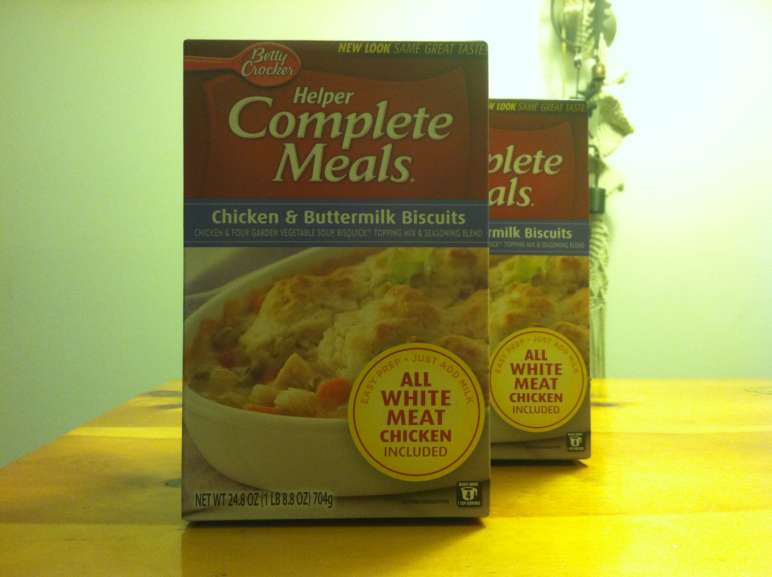 """AKA """"Meals for lonely single men"""""""